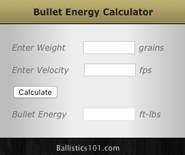 Ballistics 101 | All the ballistic charts  Finally, in one place