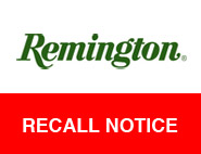 Remington .223 Ammo Recall